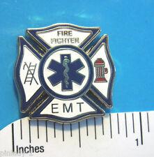 EMT   E.M.T.  Fire Fighter - Hat pin,  lapel pin , tie tac , hatpin