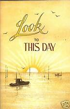 Look To This Day by A.L.Alexander Pocket Paperback Book