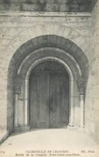 28 - cpa - CHARTRES - Cathédrale -Entrée de la chapelle