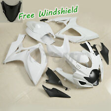 Unpainted ABS Injection Fairing Kit Bodywork For Suzuki GSXR600 GSXR750 06-07 K6