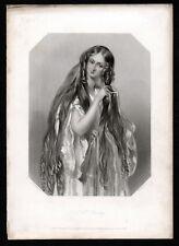 Honorable señora Stanley 1840 John Henry Robinson-Alfred Edward Chalon Grabado