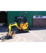 JCB 8008 CTS Micro Excavator / Digger (second hand JCB digger)