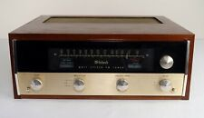 1965 McIntosh Model MR71 FM Stereophonic Tuner with Wooden Wood Case CLEAN!