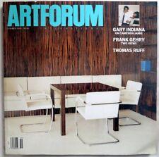 ARTFORUM INTERNATIONAL Summer 2001 Gary Indiana FRANK GEHRY