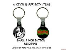Lily Munster Lilly Munster vampire The Munsters set of 2 Key Chains