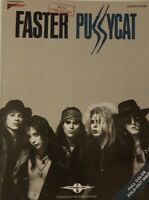FASTER PUSSYCAT GUITAR TAB / TABLATURE / SELF TITLED / FASTER PUSSYCAT SONGBOOK