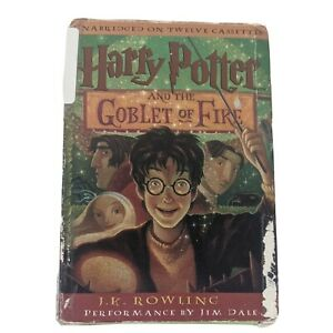 Harry Potter and the Goblet of Fire by J.K. Rowling Audio Book on Cassette Tape