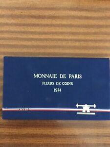 MONNAIE DE PARIS FLEURS DE COINS 1974 -