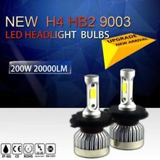 Cree LED Headlight Kit H4 HB2 9003 200W 20000LM 6500K Low Beam Fog Bulb HID