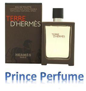 TERRE D'HERMES EDT REFILLABLE NATURAL SPRAY - 30 ml