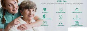 Handheld ColorLCD ECG EKG Machine Heart Monitor Electrocardiograph USB Software