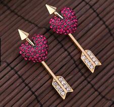 Hot Betsey Johnson Fashion Charm Jewelry women gift Piercing pierced earrings