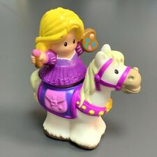 New Fisher Price Little People Disney PRINCESS Rapunzel with Horse Figure Toy