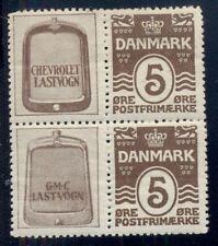 DENMARK (RE22,23) Block 4 CHEVROLET LASTVOGN GMC hinged