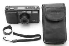 【MINT LCD works + Hood 】 Ricoh GR1V Black 35mm Film Camera From JAPAN e85