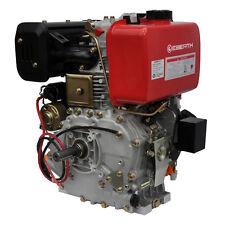 EBERTH 10 HP 7,4 kW Motore diesel avviamento elettrico e-start lombardini 25,4mm
