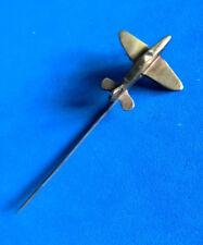 Ancienne Epingle Avion Laiton Poilu WW1