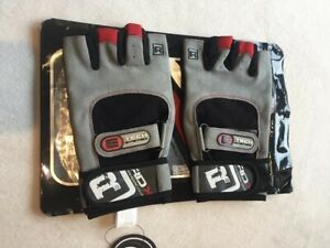 RDX TECH SYSTEM WEIGHT LIFTING GLOVES, BLACK, LARGE