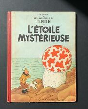 Les aventures de Tintin. L'étoile mystérieuse. Casterman 1954 B9