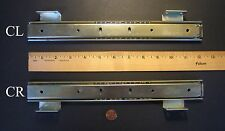 """ACCURIDE #C2006-12"""" PENCIL OR CENTER DRAWER SLIDES, 3/4-EXTENSION, ZINC-PLATED"""