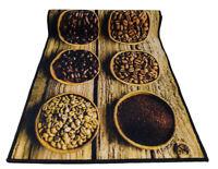 TAPPETO cucina 57x240 guida cucina antiscivolo passatoia corsia Caffè