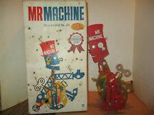 VINTAGE 1960 IDEAL TOYS MR MACHINE WIND UP ROBOT WITH ORIGINAL BOX