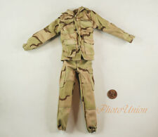 1:6 Scale Action Figure US Army Marine NATO Army Desert Camo Shirt Uniform DA198