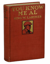 You Know Me Al by RING LARDNER ~ First Edition 1916 ~ 1st Book ~ Baseball