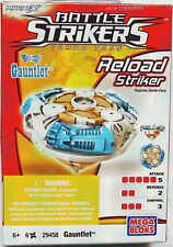 Battle Strikers GAUNTLET Mega Bloks Turbo Tops Toy 2009 New in Box Retired 29458