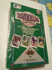1990 Upper Deck Baseball Foil Box 36 Packs Total  FACTORY SEALED Low Series Wax