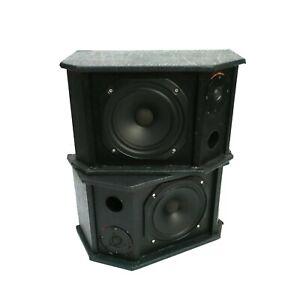 2x VINTAGE 100W Wharfedale 2065H 8 Inch 0315T Full Range 8 Ohm Speaker Bookshelf