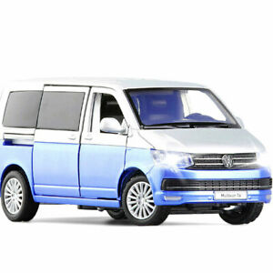 1:32 VW Multivan T6 2019 Model Car Diecast Toy Vehicle Collection Kids Gift Blue