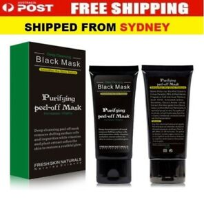 Blackhead Remover Nose Face Mask Strip Black Head Pore Acne Cleansing Mud Mask