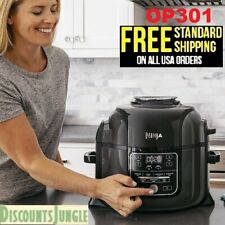 Ninja Op301 Pressure Cooker/Steamer 6.5 quart TenderCrisp Technology Air Fryer