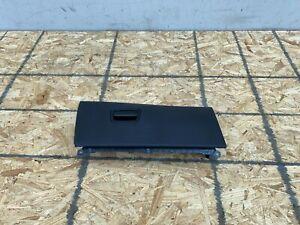 LEATHER GLOVE BOX COVER BLACK PANEL TRIM BMW F10 550I 528I 535I M5 (11-16) OEM