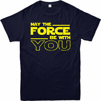 Star Wars T-Shirt,May the Force with u Anakin Skywalker,Adult and kids Sizes