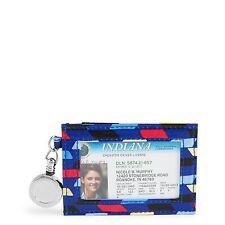Vera Bradley Retractable Lanyard ID Case in Pop Art