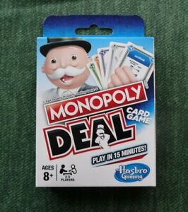 Full set Monopoly Deal card game. 2-5 players Ages 8+ Brand new.