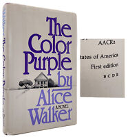The Color Purple - STATED FIRST EDITION  - True 1ST PRINTING - Alice WALKER 1982