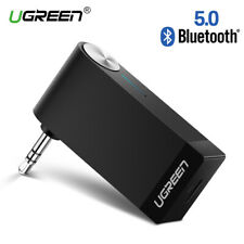 Ugreen V5.0 Wireless Bluetooth Receiver 3.5mm AUX Audio Music Adapter with Mic