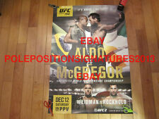 Conor McGregor UFC 194 EVENT Poster SOLD OUT MGM Las Vegas