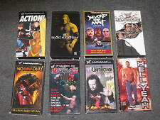 LOT 8 WWF (hardcore/no way out/valentine day massacre/unforgiven in house) VHS