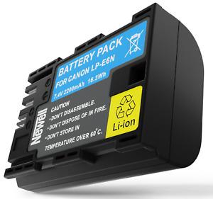 AKKU Batterie Newell LP-E6N f. Canon EOS 60D, 60Da, 70D, 6D, 6D Mark II, EOS R