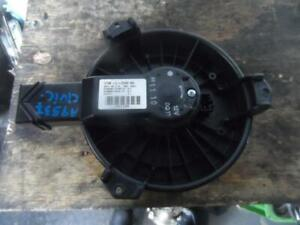 HONDA CIVIC HEATER FAN MOTOR 9TH GEN, 02/12-04/16 12 13 14 15 16