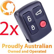 2 x Ford Remote Control For BA BF Falcon Sedan Wagon Keyless Central Locking