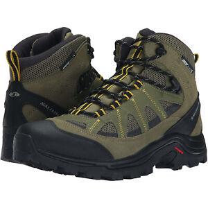 Salomon Men's Authentic LTR CS WP Trail Outdoor Stiefel Boots Herren Leder