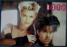 Large 90s Michael Jackson/Roxette Retro Double sided Magazine Centrefold Poster