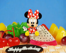 Disney Minnie Mouse Moveable Toy Model Figure Cake Topper Decoration K1231 A
