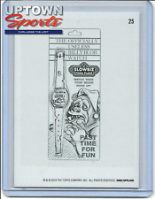 2019 Topps On-Demand Set #20 - 2019 WACKY PGKS OLD SCHOOL 8 - PENCIL ROUGH #25