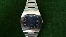 Vintage Tissot Seastar Automatic Watch, Blue Dial, with faults